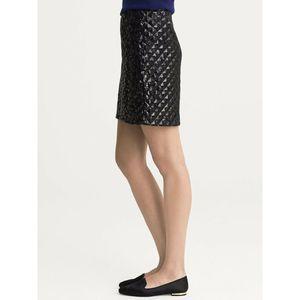 Dresses & Skirts - Banana Republic Black Pyramid Sequin Mini Skirt